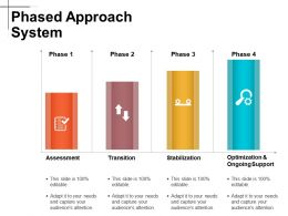 Phased Approach System Powerpoint Slide Graphics