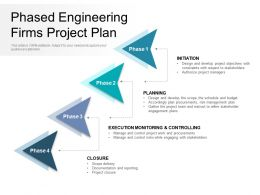 Phased Engineering Firms Project Plan