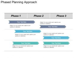 Phased Planning Approach Powerpoint Slide Ideas