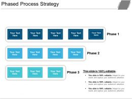 Phased Process Strategy Powerpoint Slide Images