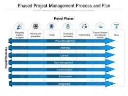 Phased Project Management Process And Plan