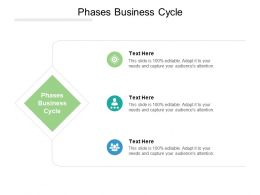 Phases Business Cycle Ppt Powerpoint Presentation Styles Information Cpb