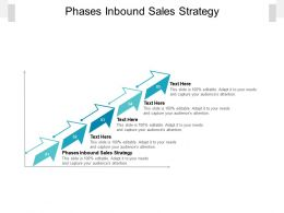 Phases Inbound Sales Strategy Ppt Powerpoint Presentation Slides Portrait Cpb