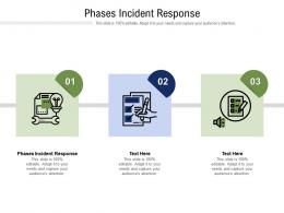 Phases Incident Response Ppt Powerpoint Presentation Icon Gallery Cpb