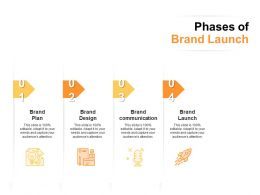 Phases Of Brand Launch