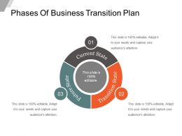 Phases Of Business Transition Plan Sample Of Ppt Presentation