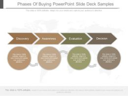 Phases Of Buying Powerpoint Slide Deck Samples