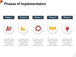 Phases Of Implementation Attention Ppt Powerpoint Presentation File Example
