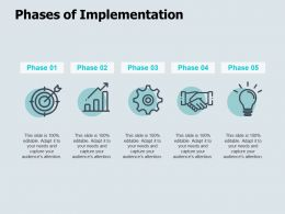 Phases Of Implementation Goal Idea Bulb Ppt Powerpoint Presentation Icon Good