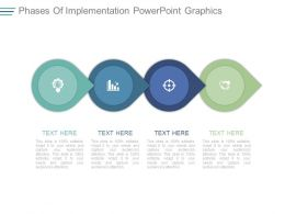 Phases Of Implementation Powerpoint Graphics