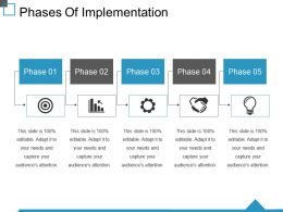 Phases Of Implementation Ppt Sample