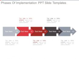 Phases Of Implementation Ppt Slide Templates