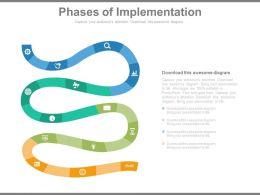 81667738 Style Circular Zig-Zag 4 Piece Powerpoint Presentation Diagram Infographic Slide