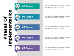 Phases Of Implementation Ppt Slides Inspiration