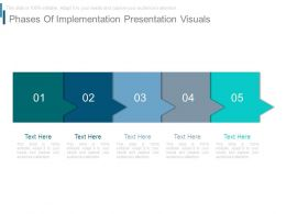 Phases Of Implementation Presentation Visuals