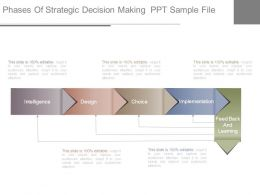 Phases Of Strategic Decision Making Ppt Sample File