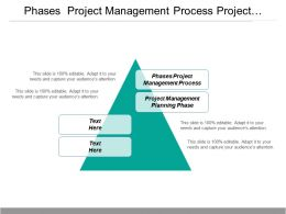 phases project management process project management planning phase cpb