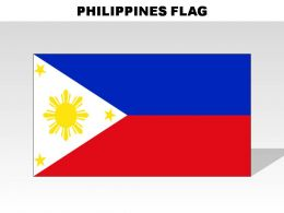 Philippines Country Powerpoint Flags