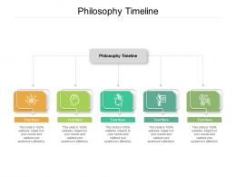 Philosophy Timeline Ppt Powerpoint Presentation Gallery Graphics Cpb