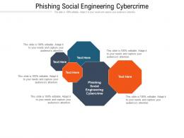 Phishing Social Engineering Cybercrime Ppt Powerpoint Presentation Professional Visuals Cpb