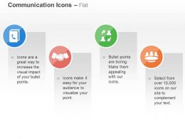 Phone Business Deal Communication Team Management Ppt Icons Graphics
