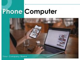 Phone Computer Smartphone Together Table Keyboard
