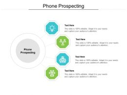 Phone Prospecting Ppt Powerpoint Presentation Ideas Cpb