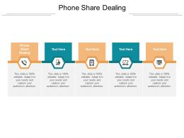 Phone Share Dealing Ppt Powerpoint Presentation Infographics Sample Cpb