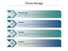 Phone Storage Ppt Powerpoint Presentation Pictures Information Cpb