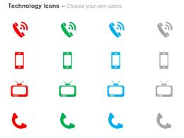 phone_touchscreen_mobile_television_handle_ppt_icons_graphics_Slide02