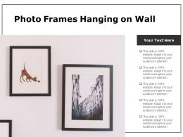 Photo Frames Hanging On Wall
