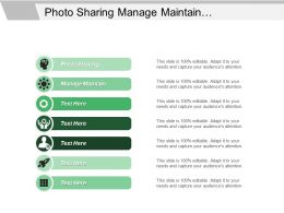 Photo Sharing Manage Maintain Differentiate Enhance Corporate Management
