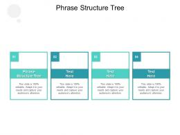 Phrase Structure Tree Ppt Powerpoint Presentation Infographic Template Guide Cpb