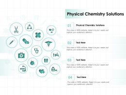 Physical Chemistry Solutions Ppt Powerpoint Presentation Gallery Slide Download