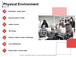 Physical Environment Workstation Ppt Powerpoint Presentation Model Deck