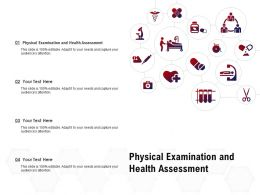 Physical Examination And Health Assessment Ppt Powerpoint Presentation
