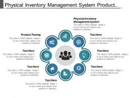 Physical Inventory Management System Product Testing Management Planning Cpb