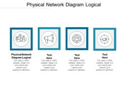 Physical Network Diagram Logical Ppt Powerpoint Presentation Portfolio Templates Cpb