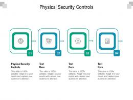 Physical Security Controls Ppt Powerpoint Presentation Model Guide Cpb