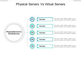 Physical Servers Vs Virtual Servers Ppt Powerpoint Presentation Show Layouts Cpb