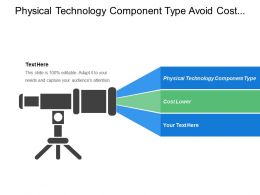 Physical Technology Component Type Avoid Cost Lower Cost