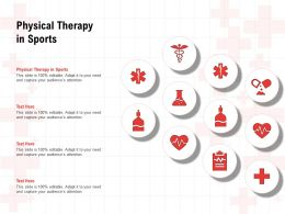 Physical Therapy In Sports Ppt Powerpoint Presentation Styles Graphic Images