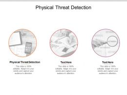 Physical Threat Detection Ppt Powerpoint Presentation Inspiration Example Topics Cpb