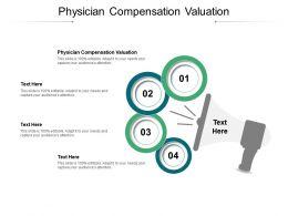 Physician Compensation Valuation Ppt Powerpoint Model Slide Portrait Cpb