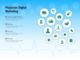Physician Digital Marketing Ppt Powerpoint Presentation Infographics Design Inspiration
