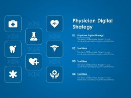 Physician Digital Strategy Ppt Powerpoint Presentation Styles Sample