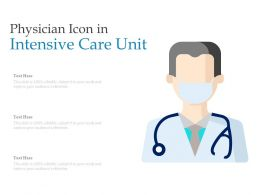 Physician Icon In Intensive Care Unit
