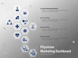 Physician Marketing Dashboard Ppt Powerpoint Presentation Infographics Guide