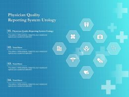 Physician Quality Reporting System Urology Ppt Powerpoint Presentation Professional Influencers