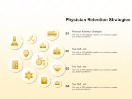 Physician Retention Strategies Ppt Powerpoint Presentation Model Ideas